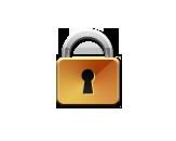 Icon - Lock Gold