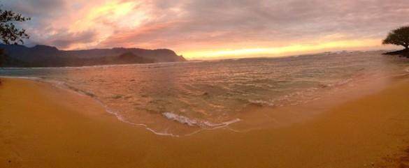 Kauai Sunrise Pano
