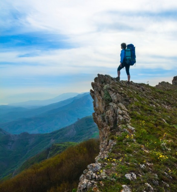 Backpacker ridge istock